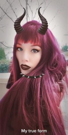 La Carmina lacarmina on TikTok Goth Makeup, Goth Girls, Gothic Fashion, Style Inspiration, Long Hair Styles, Tik Tok, App, Beauty, Videos