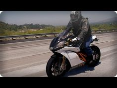 Mission-R Electric Motorcycle: 0-60 in 3 seconds, top speed of 160, practically silent