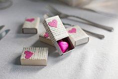 Sydänkuvioidut rasiat häävieraalle muistolahjaksi