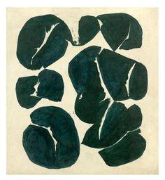 Simon Hantai (1922 - 2008) | Meun - 1968