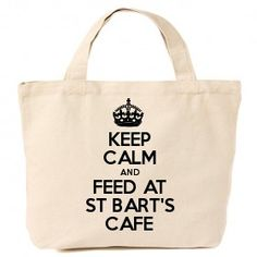 Keep Calm and Feed at St Bart's Cafe