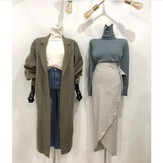 40 trendy clothes for korean fashion outfits gala fashion Look Fashion, 90s Fashion, Winter Fashion, Fashion Outfits, Petite Fashion, Fashion Styles, Fashion Tips, Casual Dress Outfits, Chic Outfits