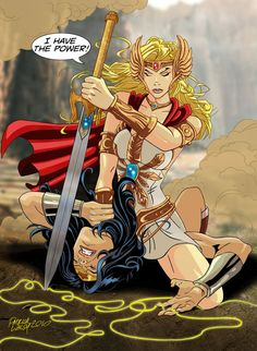 She-Ra vs. Wonder Woman