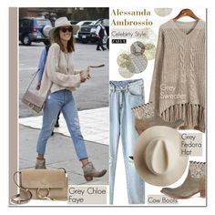 """Celebirty Style: Alessandra Ambrosio"" by vanjazivadinovic ❤ liked on Polyvore featuring Chloé, Artesano, Universal Lighting and Decor, women's clothing, women's fashion, women, female, woman, misses and juniors"