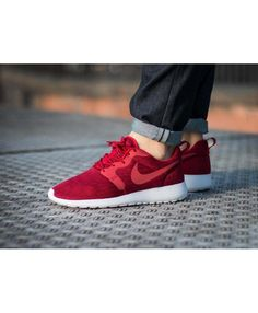 super popular 891dc 5b891 Nike Roshe One Tricoter Jacquard Rouge Blanc Homme Chaussure, Rouge, Nike  Roshe Exécuté,
