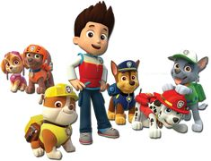 Paw Patrol Characters for Designs