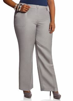 Ashley Stewart Women`s Square Pocket Linen Pant $19.99