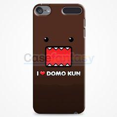 I Love Domo Kun College iPod Touch 6 Case | casefantasy