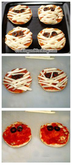 Halloween Mummy Pizza Recipe