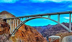 Arizona to Nevada. (The world's highest concrete arch bridge) by mustafa polat on Royal Gorge, High Bridge, State Of Arizona, Colorado River, Bridges, Nevada, Concrete, Arch, United States