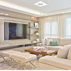 Tiny Living Rooms, Glam Living Room, Living Room Designs, Living Room Decor, Unique House Design, House Design Photos, Modern Tv Wall Units, Bedroom Closet Design, Apartment Design