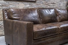 Gorgeous chocolate brown color distressed sectional with comfort and great style. Excellent craftsmanship and made in the U. Sectional Sofa With Recliner, W 6, Home Living Room, Home Furnishings, Track, Chocolate, Leather, Furniture, Color