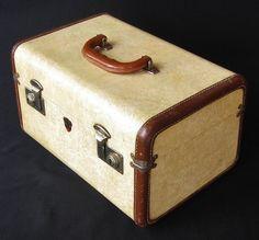 1960s Vanity Train Case Vintage Luggage Retro by looseendsvintage ...