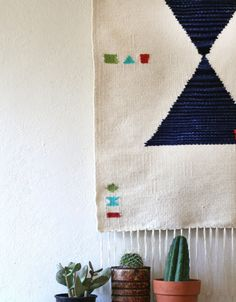 This is my best friends work! She is so amazingly talented! Check out her work: www.rachelduvalltextiles.com