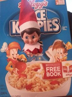 Our House Guest Has Arrived - Elf on the Shelf Ideas