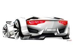 Citroen GT (Concept) Tasarım Eskizi | Ulugöl Otomotiv Citroen sayfası: www.ulugol.com.tr