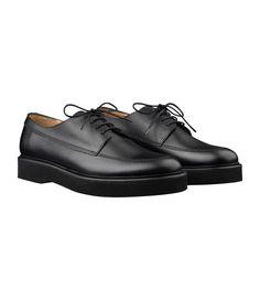 Armand derbies - Men's Shoes - Grained leather - Black - A.P.C. accessories