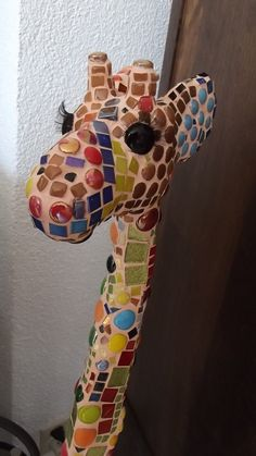 Hey, I found this really awesome Etsy listing at https://www.etsy.com/listing/151990770/unique-giraffe-mosaics-art-object