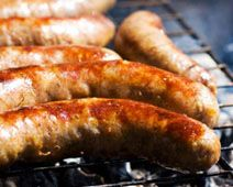 Homemade Sausage - Healthy, Organic Food from Simply Organic Summer Sausage Recipes, Homemade Sausage Recipes, Bratwurst, Chorizo, Baked Italian Sausage, Home Made Sausage, Whole Food Recipes, Healthy Recipes, Healthy Foods