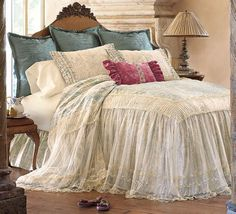 Bedding Sets for Luxury Homes – Best Bed Linen Ever Bedroom Bed, Dream Bedroom, Bedroom Decor, Discount Bedding Sets, French Country Bedrooms, Shabby Chic Bedrooms, Beautiful Bedrooms, Bed Spreads, Luxury Bedding