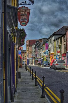 North St Skibbereen Pictures For Sale, West Cork, Colourful Buildings, Cork Ireland, Family History, My Photos