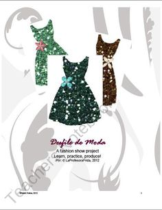 """Desfile de Moda, Spanish Fashion Show product from La-Profesora-Frida on TeachersNotebook.com"" Will check out later..."