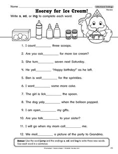 Printables Inflectional Endings Worksheet inflected endings worksheet abitlikethis endings