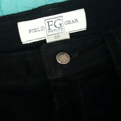 Field Gear Leather Skirt Leather Classic in Black! 100% Leather A Line Ladies Skirt, Perfect Pair Up with your Boots or Anything! Barely Used in Excellent Used Condition! Field Gear Skirts A-Line or Full
