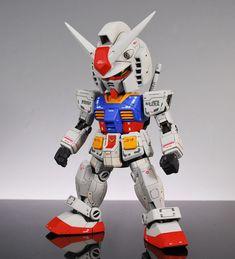 Gundamsuper deformed | Custom Build : RX-78-2 Gundam (SD) | ocealos