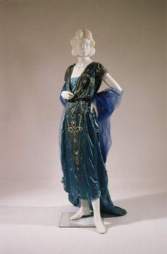 Dress, Jeanne Lanvin, c. 1920.