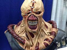 Nemesis Resident Evil Nemesis, Wolverine, Minis, Action Figures, Anime, Horror, Halloween Face Makeup, Skull, Sculpture