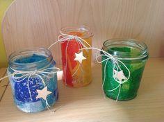 Lanterne di Natale fatte dai bambini