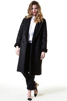 Chiara Reversible Shearling Coat - Storets.com