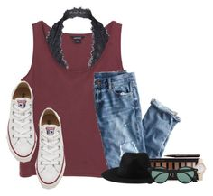 """goodnight:) read d"" by lydia-hh ❤ liked on Polyvore featuring Monki, Free People, J.Crew, Converse, Forever 21, Element, Ray-Ban and Marc Jacobs"