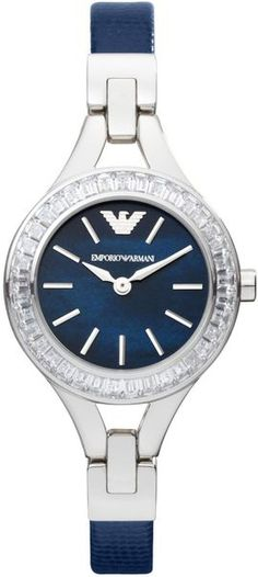 Emporio Armani Watches for Women Armani Watches For Women, Ladies Watches, Luxury Watches, Rolex Watches, Future Wife, Diamond Are A Girls Best Friend, Emporio Armani, Clocks, Jewerly