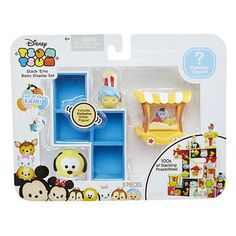 Tsum Tsum Fun At The Movies Basic Display Playset Blue One Size * More info could be found at the image url. (This is an affiliate link) Tsum Tsum Toys, Tsum Tsum Characters, Disney Characters Costumes, Disney Tsum Tsum, Baby Girl Toys, Toys For Girls, Walt Disney Pixar, Headband Display, Kawaii