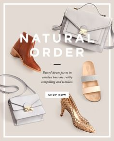 Shop New Natural Shoes and Handbags at The Loeffler Randall Official Online… Newsletter Layout, Email Layout, Email Newsletter Design, Minimal Web Design, Ad Design, Layout Design, Graphic Design, Email Marketing Design, Content Marketing