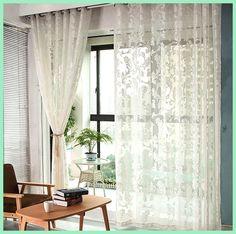 The balcony yarn white gauze shade of champagne gold yarn jacquard curtain window screen window high-end PND tail-on