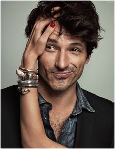 Andres Velencoso Segura is the Star Attraction for Elle Spain Cover Photo Shoot