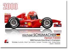Vintage Cars Classic Michael Schumacher drives the Ferrari - Formula 1, Sport Cars, Race Cars, Formula One Champions, Car Racer, Michael Schumacher, Ferrari F1, Car In The World, Concept Cars
