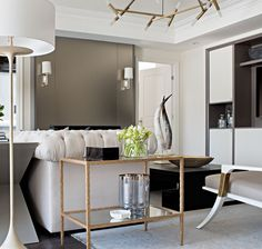 Modern and stylish living room decor. Discover more inspirations at http://memoir.pt/inspirations/