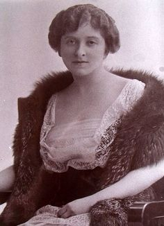 Almina, Countess of Carnarvon, 1876-1969 was the wife of George, 5th Earl of Carnarvon, 1866-1923, the famed discoverer with Howard Carter of the Tomb of Tutankhamun.