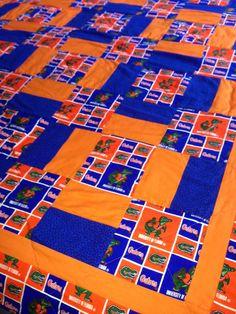 Florida Gators Handmade Quilt