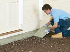 How to Lay a Concrete Paver Patio | how-tos | DIY