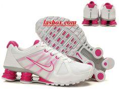 official photos f5700 31b11 chaussures nike shox agent femme blanc rose www.lashox.com Runs Nike, Nike