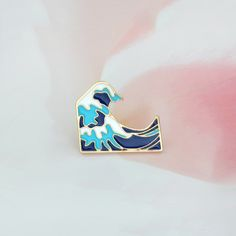 677589741 US $0.57 52% OFF|Blue waves brooch Enamel Pin buckle Cartoon Metal Brooch  for Coat Jacket Bag Pin Badge Sea Jewelry Gift for Kids Girl Boy-in Brooches  from ...