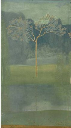 Constant Montald (Belgian, 1862-1944), Tree, 1904. Oil on canvas.