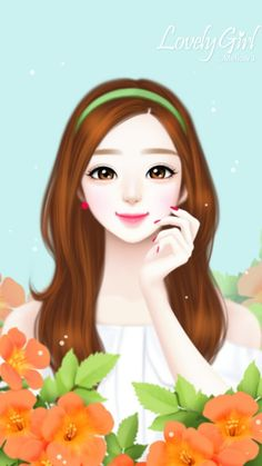 Image in Lovely Girl💋 collection by ChiangWaiFun Cartoon Girl Images, Cute Cartoon Pictures, Cute Cartoon Girl, Girly Pictures, Beautiful Girl Drawing, Cute Girl Drawing, Cartoon Girl Drawing, Beautiful Anime Girl, Girly Drawings
