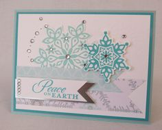 Could recreate using CTMH products. Christmas Cards To Make, Xmas Cards, Holiday Cards, Scrapbook Cards, Scrapbooking, Xmas Greetings, Embossed Cards, Winter Cards, Big Shot