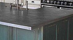 1000 ideas about metal countertops on pinterest zinc for Zinc countertop cost